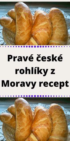 Bread Dough Recipe, Czech Recipes, Hot Dog Buns, Recipies, Food And Drink, Pizza, Fresh, Baking, Kitchen