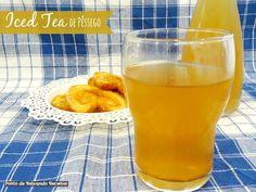 Ponto de Rebuçado Receitas: Iced Tea de pêssego