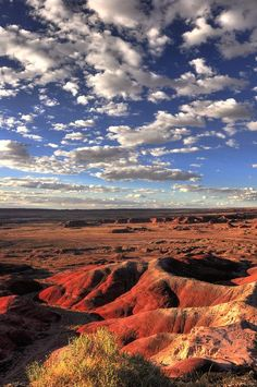 Painted Desert at Kachina Point, Petrified Forest National Park