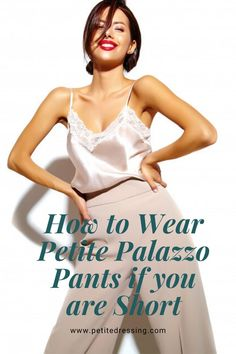 Petite palazzo pants have been gaining popularity in recent years. It was a never ending debate whether or not short women can pull off the palazzo look at all. It probably still is debatable even today. Petite Palazzo Pants, Fashion Outfits, Emo Fashion, Gothic Fashion, Fashion Women, Fashion Ideas, Pallazo Pants, Geek Underwear, Capsule Outfits