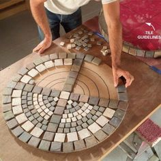 DIY- how to make an outdoor mosaic table with step by step tutorial