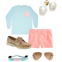 """On the dock"" by ceahannahgrace on Polyvore"