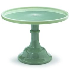 Mosser Jadeite Cake Stand, $59.95-$69.95, Sur La Table. A perfect example of beauty meets function. A beautiful cake stand is essential to a house with kids, Gabrielle says, because it can elevate any meal into something special and magical for the kids.