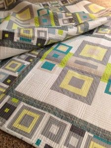 textured frames free quilt pattern. Love the color palette, too. xxx