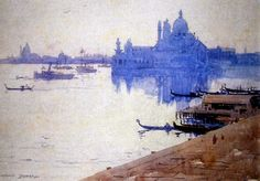 Arthur Ernest Streeton (1867 – 1943) - Venice