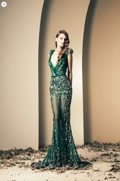 Lebanese fashion designer Ziad Nakad unveiled his new Haute Couture fall/winter 2013 collection of gorgeous evening dresses and gowns. Beautiful Gowns, Beautiful Outfits, Look Fashion, High Fashion, Dress Fashion, Mode Glamour, Evening Dresses, Prom Dresses, Bridesmaid Dresses