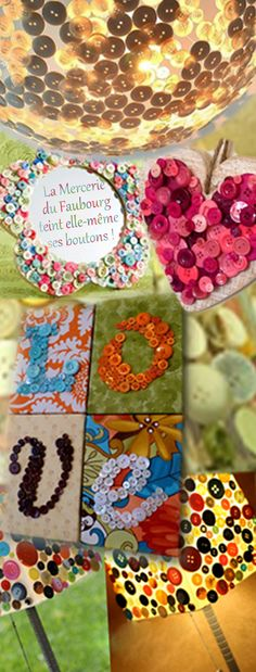 Venez choisir parmi nos nombreux boutons, confiez-nous un échantillon de couleur, ou choisissez sur une gamme.  Nous vous les teindrons.  Ce service est  également valable pour nos dentelles, cols cotons ainsi que nos clous !  A bientôt ! #boutons #lampe #abat_jour #miroir #diy #cadre #customisation #customiser #teinture #bouton #mercerie #paris