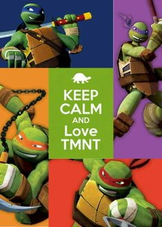 Another TMNT collage but I made it to fit my phone!
