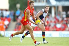 David Swallow from the Gold Coast Suns