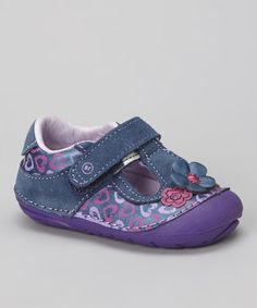 Take a look at this Purple & Pink Cynthia Mary Jane by Stride Rite on #zulily today!