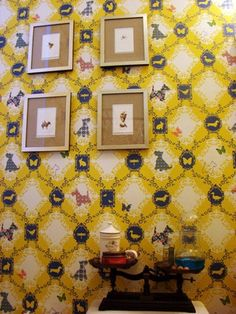 wallpaper- barking mad from Anthropologie