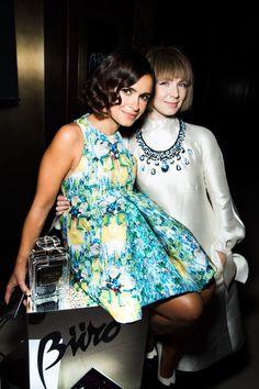 Mira stunning outfit & friend!