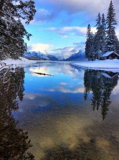 Serene stillness