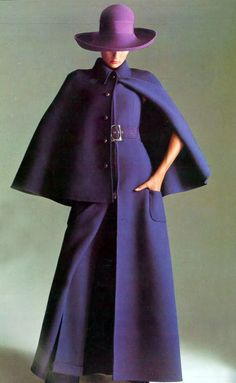 September 1970 - Vogue Italia (Reminds me so much of Margot Leadbetter from The Good Life!!)