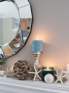 ComfyDwelling.com » Blog Archive » 53 Beautiful Beach Mantle Decor Ideas