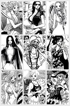 One Piece Ladies. The figures might be physically impossible, but at least they all have deep, individual personalities.
