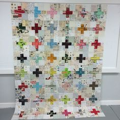 Finished the quilt top - yay!!! Will make a back tomorrow. | Flickr - Photo Sharing!