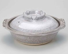 Grey-Glaze Brush for 5-6 persons 12.6inch Donabe Japanese Hot pot Grey Ceramic Made in Japan -- Quickly view this special  product, click the image : Bakers and Casseroles
