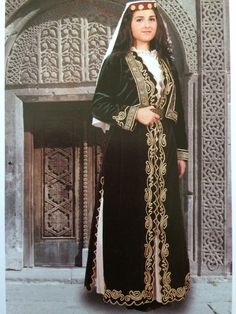 An urban bride costume from Amasya. This costume is special to women from the provinces of Sivaz and Erzincan:by Julia Mutlu