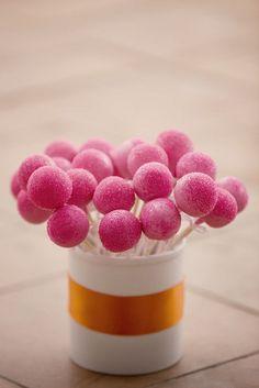 Wedding Cake Pops by Sweet Lauren Cakes, via Flickr