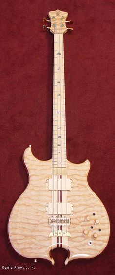 Alembic Bass - quilted maple, omega body shape