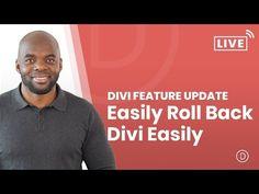 Introducing Divi Rollback