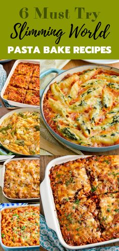 6 Must Try Best Ever Slimming World Pasta Bakes - if you cook any pasta bakes, make it these. Family friendly and delicious they will become a regular on your meal plans. bake 6 Must Try Best Ever Slimming World Pasta Bakes Slimming World Pasta Bake, Slimming World Dinners, Slimming World Recipes Syn Free, Slimming World Diet, Slimming Eats, Slimming World Cook Books, Healthy Pasta Bake, Healthy Pastas, Healthy Foods To Eat