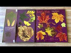 LEAF MAN READ ALOUD - WITH TEACHER RESOURCES. - YouTube Autumn Art, Autumn Leaves, Lois Ehlert, Leaf Man, Fall Art Projects, Fallen Book, Land Art, Read Aloud, Teacher Resources
