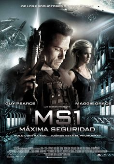 High resolution official theatrical movie poster ( of for Lockout Image dimensions: 1433 x Directed by Stephen St. Best Action Movies, All Movies, Sci Fi Movies, Movies To Watch, Movies Online, Vincent Regan, Maggie Grace, Peliculas Audio Latino Online, Basement Movie Room