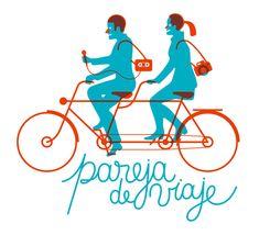 Pareja de Viaje | © Jorge Alderete (from 'Latin American Graphic Design', edited by Taschen)