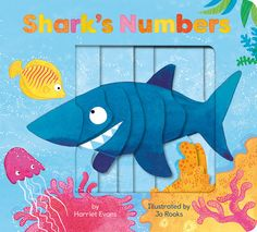 Dive into the deep with this die-cut board book and join the sea creatures incounting all the way up to ten.    Can you crunch numbers with Shark? Dive into the deep and join the seacreatures in counting all the way up to ten. Shark Diving, Shark S, Book People, Toddler Books, Penguin Random House, Rook, Kids Reading, All The Way, Sea Creatures