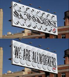 AD/Stefan Sagmeister // Design/Jessica Walsh for Levi's