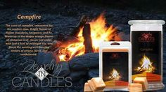 Love the smell of a campfire? Bring the scent you love inside today! Order yours today! Www.jewelryincandles.com/store/jicwithashley