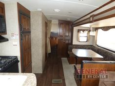 The Rear Bunkhouse Will Comfort The Kids While Camping As You Relax In The Front Bedroom Offered In The Used 2014 Keystone RV Laredo Super Lite 291TG Travel Trailer at General RV | Brownstown, MI | #141771