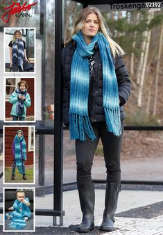 Cozy Cookie scarf.