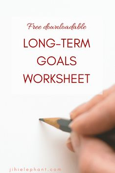 Get the Long-Term Goals worksheet and and ton more in my FREE Resource Library! Effective Time Management, Management Tips, Bujo, Goals Worksheet, Long Term Goals, Planner Tips, Goal Planning, Bullet Journal Inspiration, Enough Is Enough