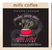 Mills Coffee Roasting Co., Providence, RI.  Coffee roasting is a craft that demands expertise. A level of perfection that only comes from doing it right over and over again.     Founded in 1860, the Mills family has been roasting company exceptionally for more than 150 years and has built a legacy of excellence.     The Mills family knows coffee and Brew1 is proud to say that Mills Coffee Roasting Co. trusts Brew1 and only Brew1 to be their official single serve coffee brewer of choice.