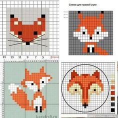 Counted Cross Stitch Patterns, Cross Stitch Designs, Cross Stitch Embroidery, Embroidery Patterns, Crochet Patterns, Fair Isle Knitting Patterns, Knitting Charts, Knitting Stitches, Pixel Pattern