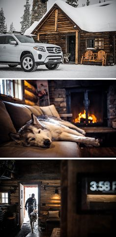 Trent Bona (www.trentbona.com) and internet star Loki the Wolfdog on an aventure with the Mercedes-Benz GLS. Photos via Mercedes-Benz USA #mbphotopass.