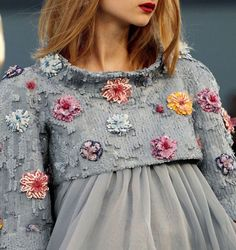 Chanel. knit and crochet