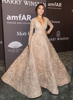 NEW YORK, NY - FEBRUARY 08: Singer Madison Beer attends 19th Annual amfAR New York Gala at Cipriani Wall Street on February 8, 2017 in New York City. (Photo by Gilbert Carrasquillo/FilmMagic) via @AOL_Lifestyle Read more: https://www.aol.com/article/entertainment/2017/02/09/amfar-gala-2017-red-carpet-arrivals/21710598/?a_dgi=aolshare_pinterest#fullscreen