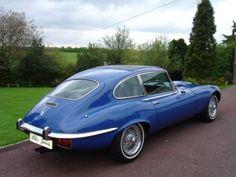 Jaguar E Type V12 1973 2+2