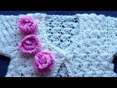 Crochet Saco, Blanket, Youtube, Fashion, Fashion For Girls, Sweater Vests, Sacks, Moda, Fashion Styles