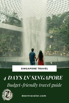 4 Day Singapore Travel Guide – Budget-friendly Itinerary – Deer Traveler | How to get around in Singapore | Basic information about Singapore | Perfect 4 days in Singapore | Budget travel tips | Free things to see | Itinerary #singapore #visitsingapore #asia #sea #southeastasia #travelblog #traveler #travelguide #