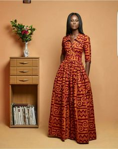 All our outfits are made from carefully sourced and selected high quality 100% cotton African fabric prints that does not lose color or fade after several washes. A unique dress that can be worn to social events. NOTE TO BUYER: We want this outfit/garment to fit you perfectly. So