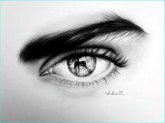 23 Pencil Sketch of Beautiful Human Eyes