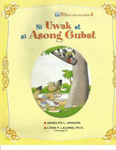 Teacher Fun Files: Si Uwak at si Asong Gubat Short Stories For Kids, Kids Stories, Money Logo, Cool Coloring Pages, Borders For Paper, Kids Story Books, Picture Cards, Kindergarten Teachers, Writing Paper