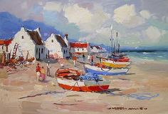 wessel marais - Google Search Fishermans Cottage, Pastel Paintings, Cottages, Google Search, Art, Art Background, Cabins, Country Homes, Kunst