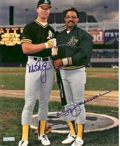 Mark McGwire & Reggie Jackson
