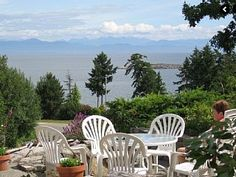 Nanaimo- Spectacular Ocean and Mountain View Home. Our home of 2500 sq.ft. plus 1100 sq.ft. basement with a spectacular water view including a background of coastal ...